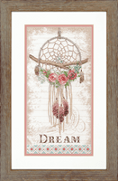 Counted Cross Stitch: Floral Dreamcatcher By Dimensions
