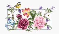 Spring Flowers Cross Stitch Kit By Luca S