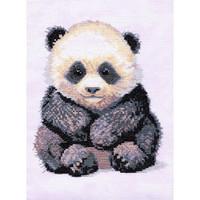 Panda Bear Cross Stitch Kit by Creative world