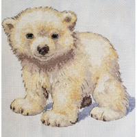 polar Bear Cross Stitch Kit by Creative World