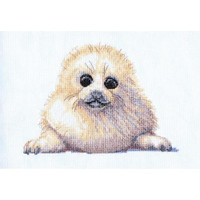 Seal Pup Cross Stitch Kit by Creative World