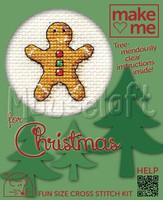 Make Me Gingerbread Man Cross Stitch Kit by Mouseloft