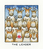 The Leader Cross Stitch Kit By Heritage