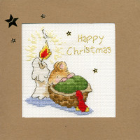 Christmas Card – First Christmas Cross Stitch Card Kit