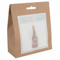Felt Decoration Kit: Bottle of Fizz By Trimits
