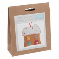 Felt Decoration Kit: Christmas: Gingerbread House