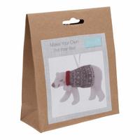 Felt Decoration Kit: Christmas: Polar Bear