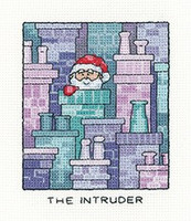 'The Intruder' Cross Stitch Kit By Hertitage Crafts