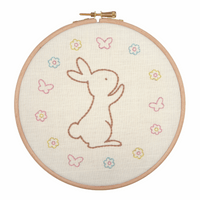Embroidery Hoop Kit: Bunny By Anchor
