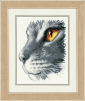 Counted Cross Stitch Kit: Majestic Cat By Vervaco