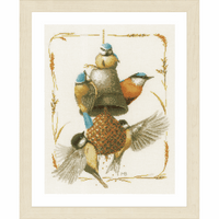 Counted Cross Stitch Kit: Feeding Time By Lanarte