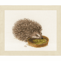 Counted Cross Stitch Kit Hedgehog By Lanarte