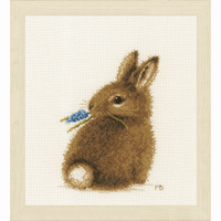 Counted Cross Stitch Kit: Bunny By Lanarte