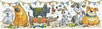 Dog Show Cross Stitch Kit By Heritage Crafts