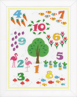 Counted Cross Stitch Kit: Count to 10 by Vervaco