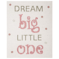 Counted Cross Stitch Kit: Baby Sets: Dream (Girl) By Anchor