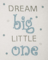 Counted Cross Stitch Kit: Baby Sets: Dream (Boy) By Anchor