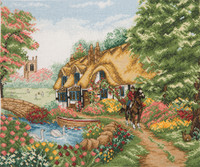 Counted Cross Stitch Kit: Village Life by Anchor
