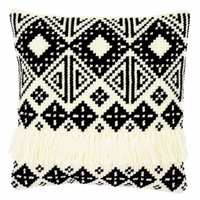 Cross Stitch Kit: Cushion: Ethnic Print By Vervaco