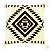 Cross Stitch Kit: Cushion: Ethnic Print 2 By Vervaco