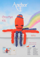 Crochet Kit: Octopus: Milo: Orange/Blue By Anchor
