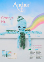 Crochet Kit: Octopus: Lilo: Pale Blue/Green By Anchor