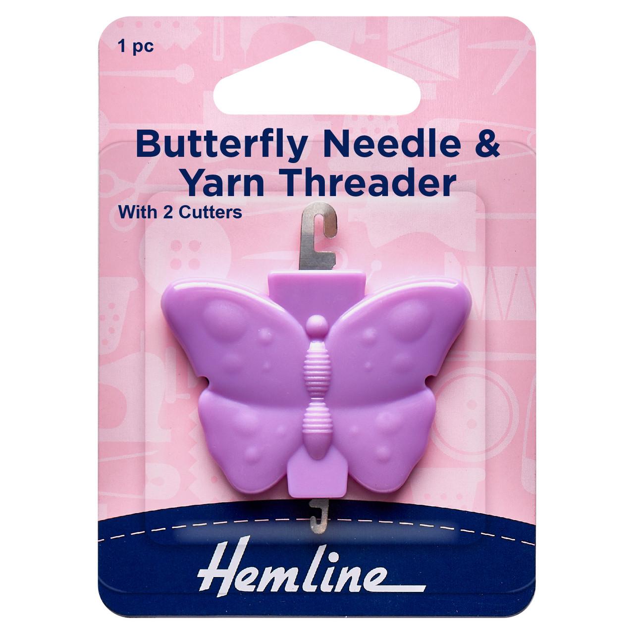 Hemline Needle Threader with Cutter 2 Pack