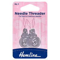 Needle Threader: Aluminium By Hemline