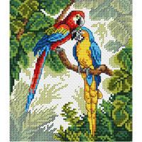 parrots Cross Stitch Kit by MP Studia