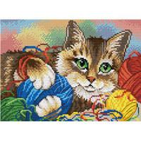 Kitten Cross Stitch Kit by MP Studia