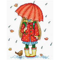 Autumn Walk Cross Stitch Kit by MP Studia