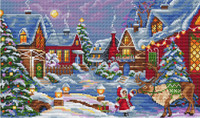 The Christmas Guest Cross Stitch Kit By Merejka