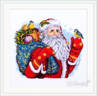 Merry Christmas Cross Stitch Kit By  Merejka
