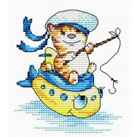 Sailing Cross Stitch Kit by MP Studia