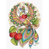 Fairy Tale Bird Cross Stitch Kit by MP Studia