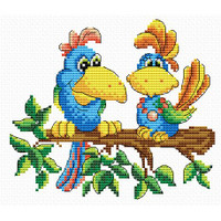 Colours of the Jungle Cross Stitch Kit by MP Studia
