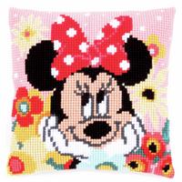 Cross Stitch Kit: Cushion: Disney: Minnie - Daydreaming By Vervaco