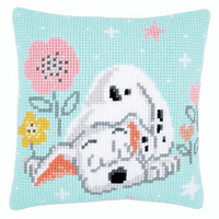 Cross Stitch Kit: Cushion: Disney: Dalmatian By Vervaco