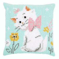 Cross Stitch Cushion Kit: Disney: Aristocats Marie By Vervaco