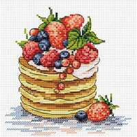 Breakfast Time Cross Stitch Kit by MP Studia