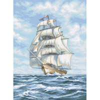 Ship Cross Stitch Kit by Luca S