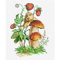 Forest Snail Cross Stitch Kit by MP Studia