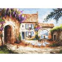 Village Cross Stitch Kit by Luca S