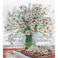Softness of the flowers Cross stitch Kit by MP Studia