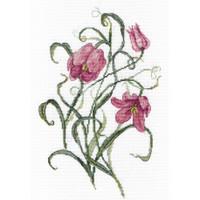 Flower Cross Stitch Kit by Mp Studia