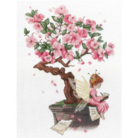Sakura Cross Stitch Kit by Mp Studia
