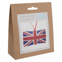 Felt Decoration Kit: Union Jack By Trimits