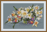 Daffodils Cross Stitch Kit By  Merejka