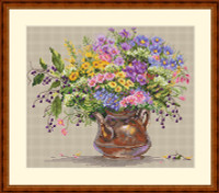 Wild Flowers Cross Stitch By Merejka