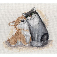 We are together Cross Stitch Kit by MP Studia